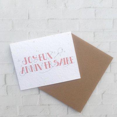 Kit de Survie Carte ensemencée - Joyeux anniversaire