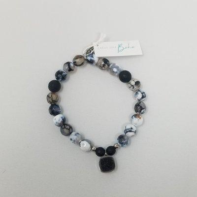 Créations boho Bracelet - Nocturne