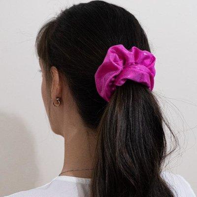 Enrose.bytu Chou à cheveux - Fushia sparkle