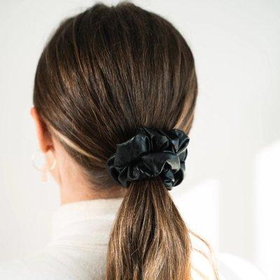 Enrose.bytu Chou à cheveux - Leather weather