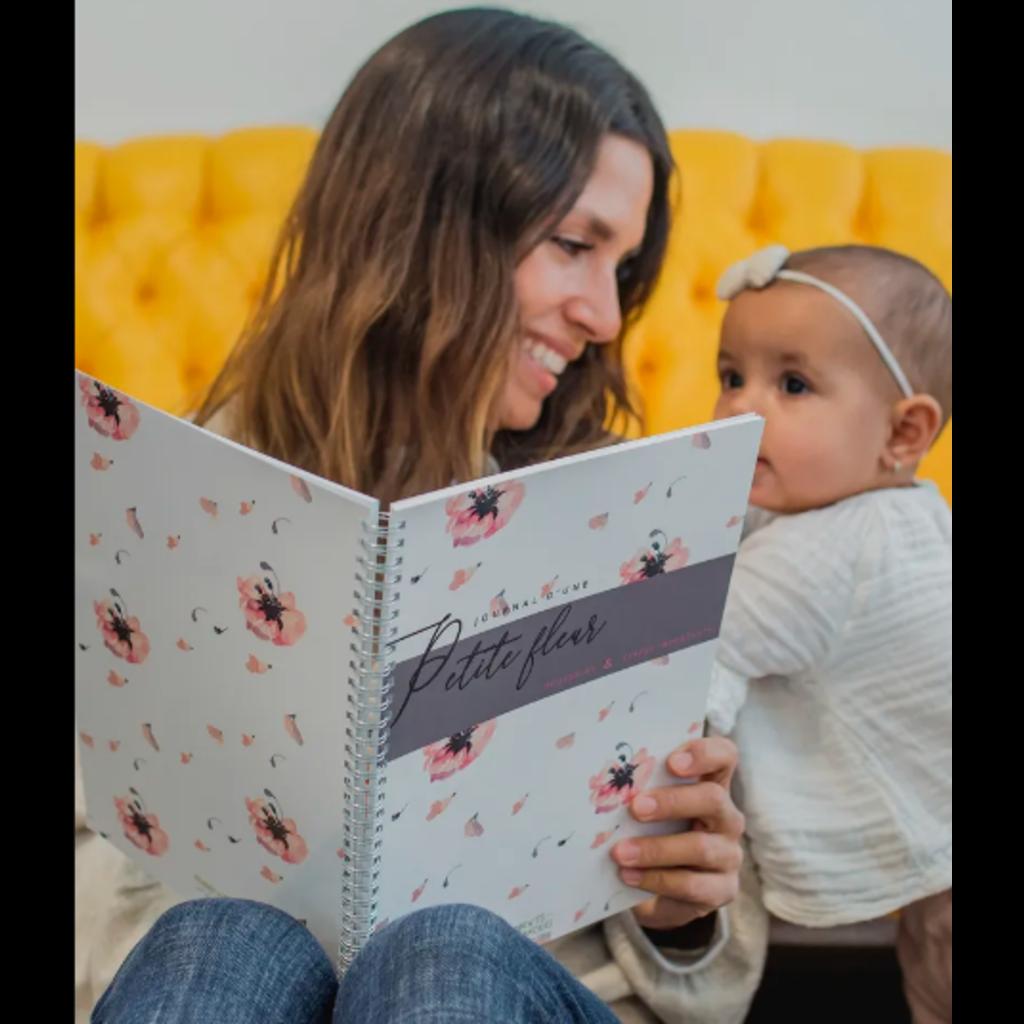 Moments ancrés Journal d'une Petite fleur - Livre de naissance