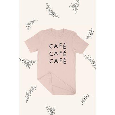 Mimi & August Café T-shirt Unisexe