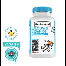 Herbaland Gummies - Calcium et D3 végétalienne