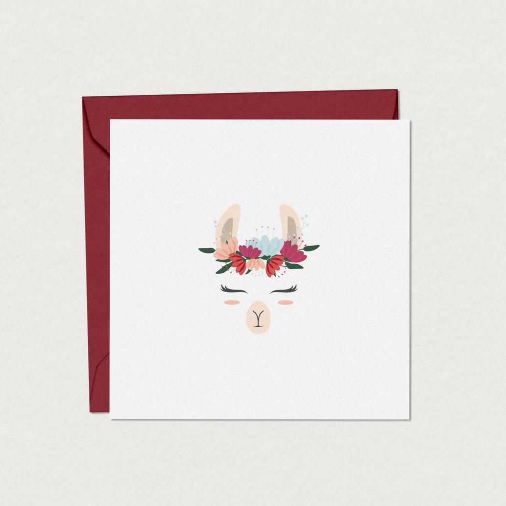 Mimosa Design Coffret cartes de souhaits - Lama Frida