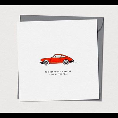 Mimosa Design Carte -  Porsche