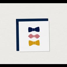Mimosa design Mini Carte de Souhaits - Noeuds Pap'