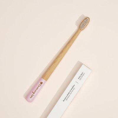 Cocooning Love Brosse à dent en bambou - Poil doux