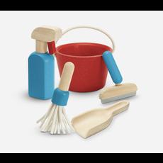 Plan Toys Jouet en bois écologiques - Ensemble de ménage
