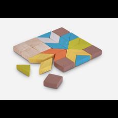 Plan Toys Jouet en bois écologiques - Mosaïque