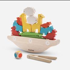 Plan Toys Jouet en bois écologiques - Bateau d'équilibre