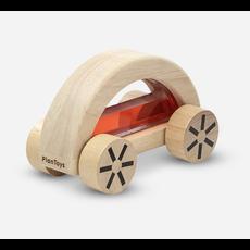 Plan Toys Jouet en bois écologiques - Voiturette avec eau colorée