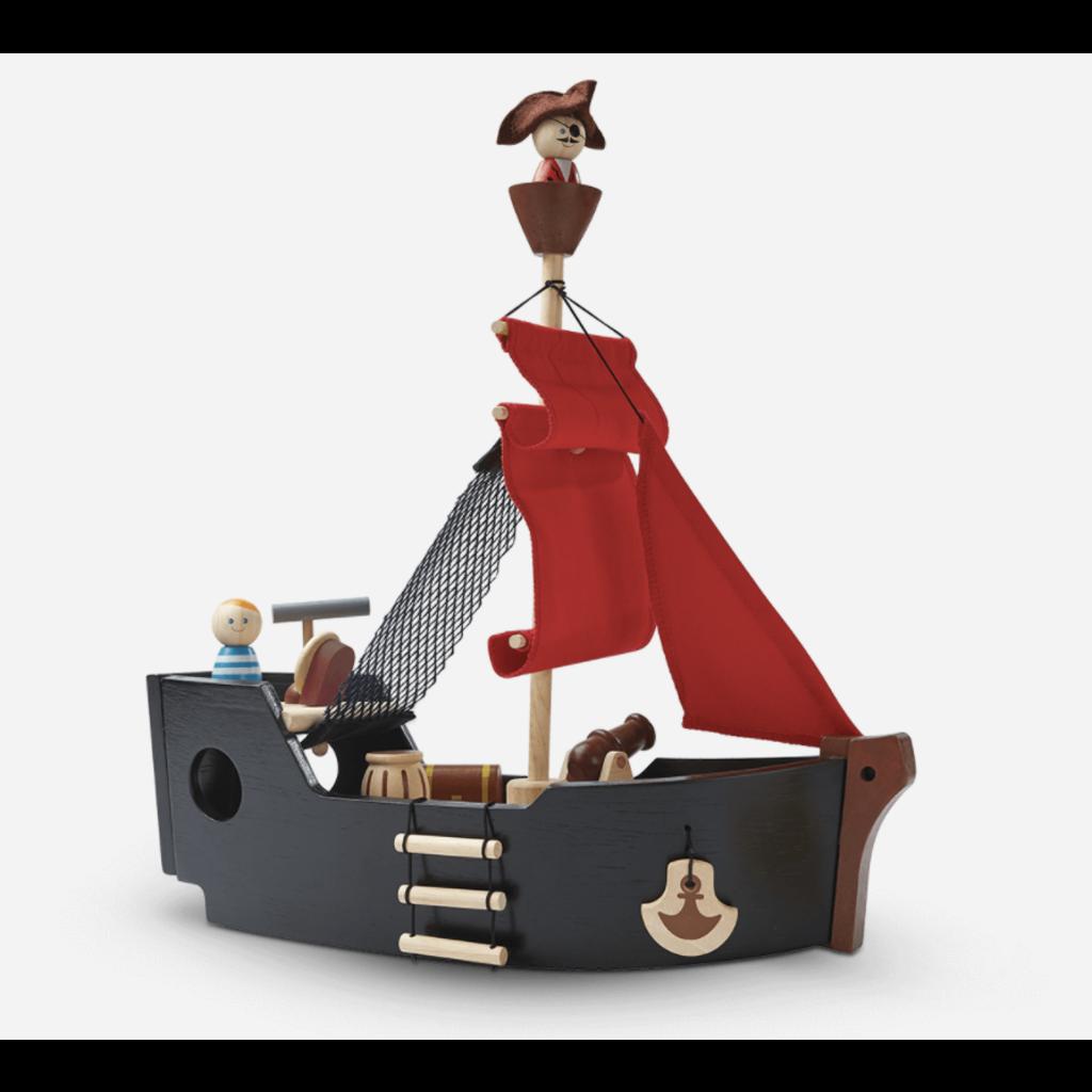 Plan Toys Jouet en bois écologiques - Navire de pirate