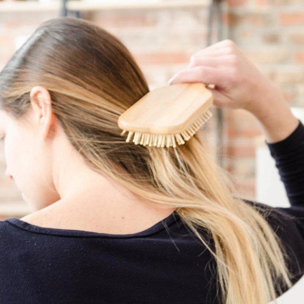 BKIND Brosse à cheveux en bambou