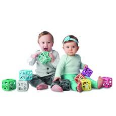 Malarkey Kids Jouet cube à mâcher - Marbre