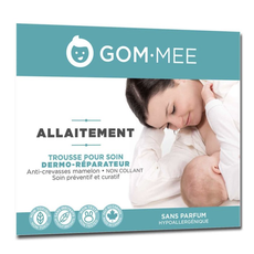 GOM·MEE Trousse d'allaitement - Gerçure et crevasse