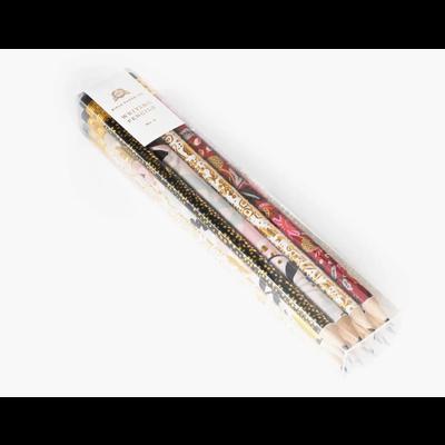Rifle Paper Co. Paquet de 12 crayon à mine - Modernist Set