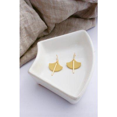 Boucle d'or Boucles d'oreilles - Argile polymère et tige or