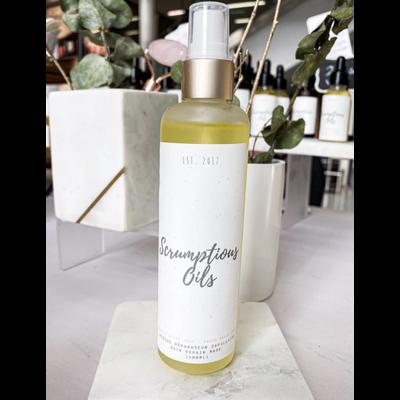 Scrumptious oils Masque réparateur capillaire