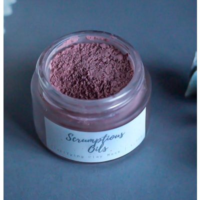 Scrumptious oils Masque clarifiant à l'argile