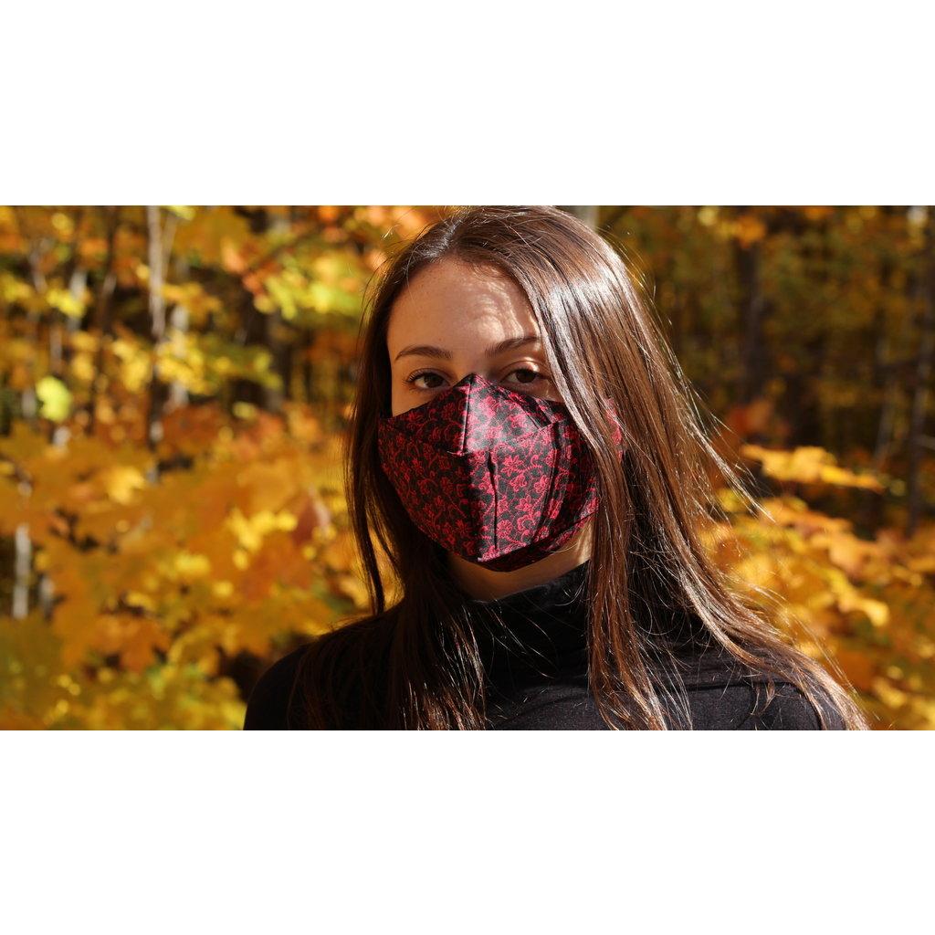 Maskalulu Masques anti-buée - Dentelles festives