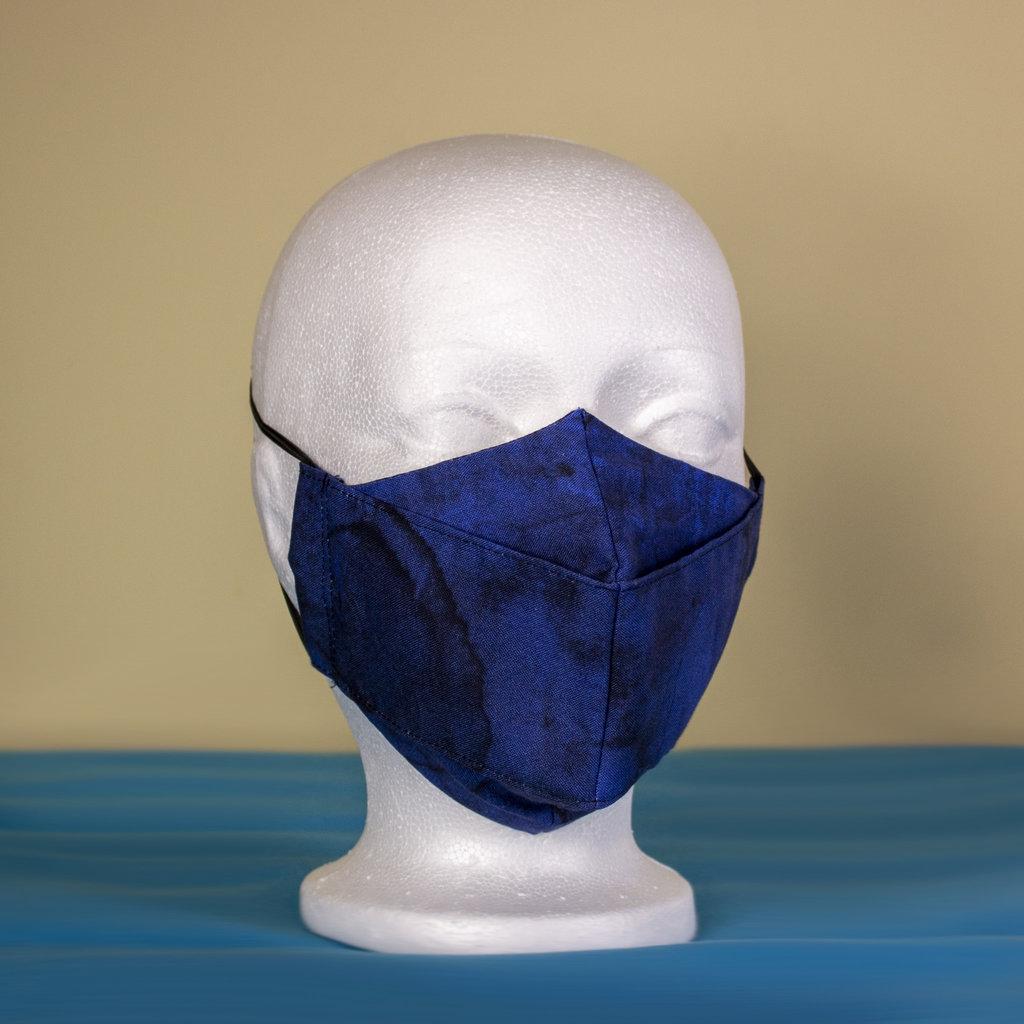 Maskalulu Masque anti-buée - Bleu marbré