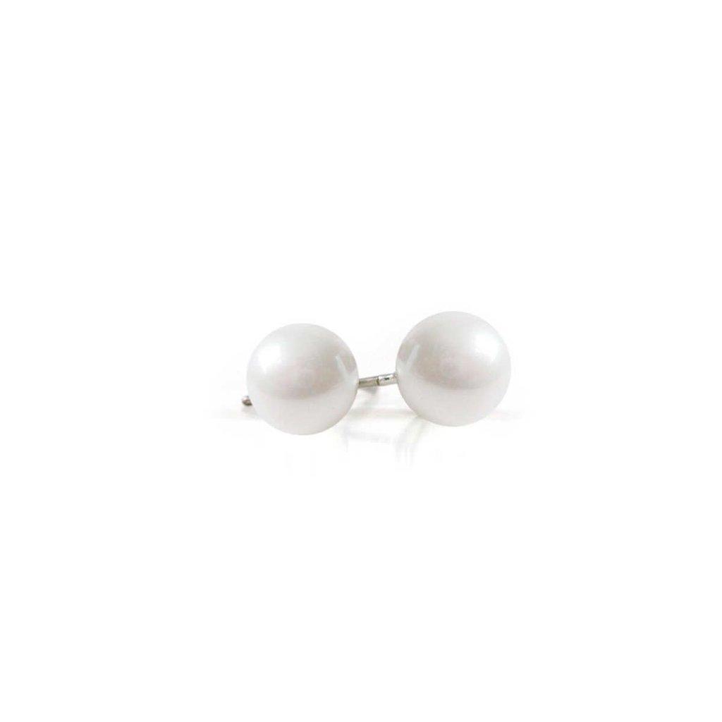 Caracol Boucles d'oreilles - Perle