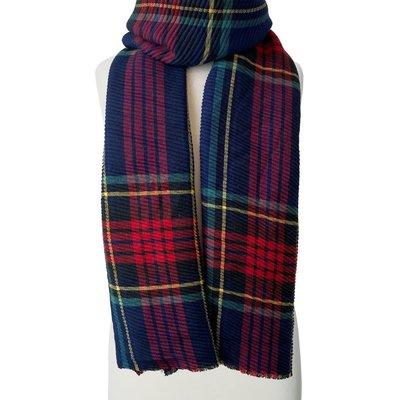 Caracol Grand foulard ondulé à motif