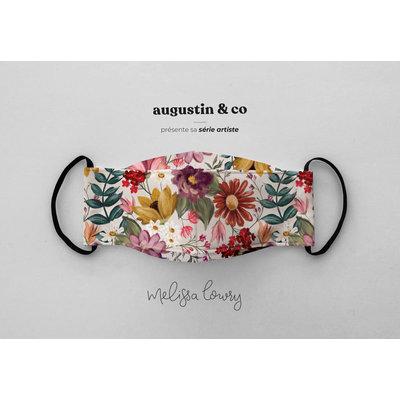 Augustin & Co. Masque - Série Artiste - Mélissa Lowry - Crème