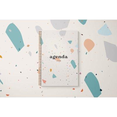 Naomie Design Agenda / planificateur 2021 - Terrazo