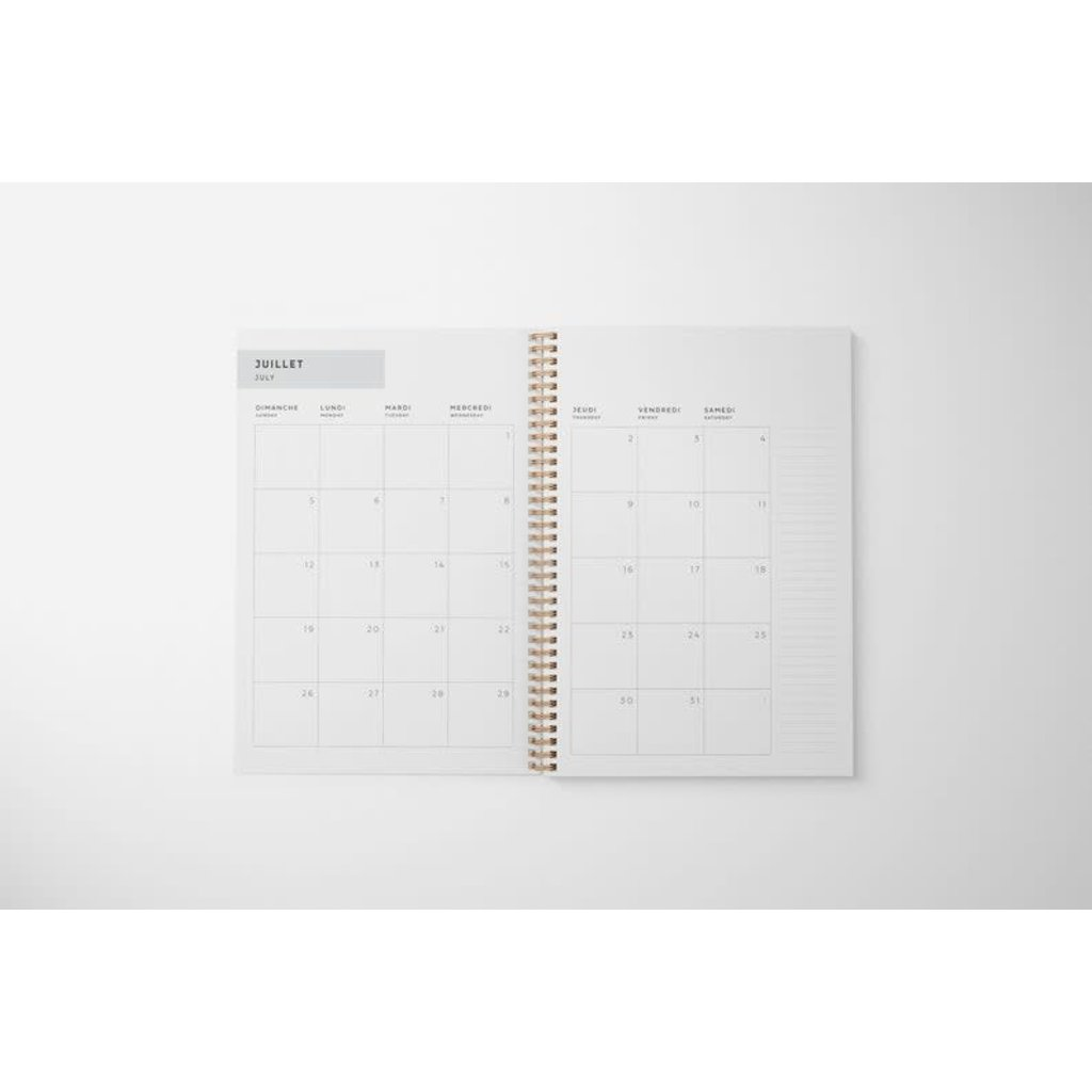 Naomie Design Agenda / planificateur 2021 - Femme
