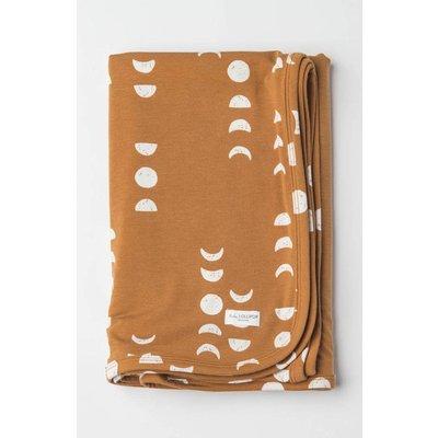 Loulou lollipop Couverture en tricot extensible - Lune