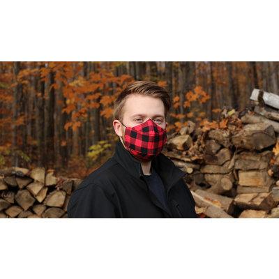 Maskalulu Masque anti-buée - Le bûcheron