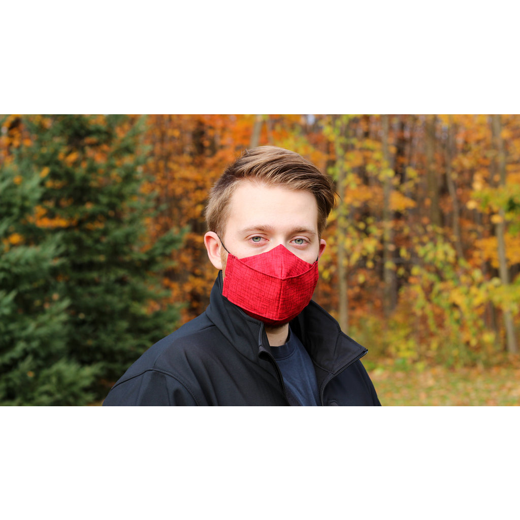 Maskalulu Masque anti-buée - Chemin écarlate