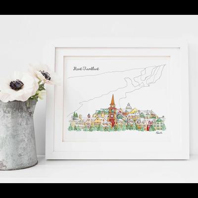 Hobeika Art Affiche -   Mont-Tremblant