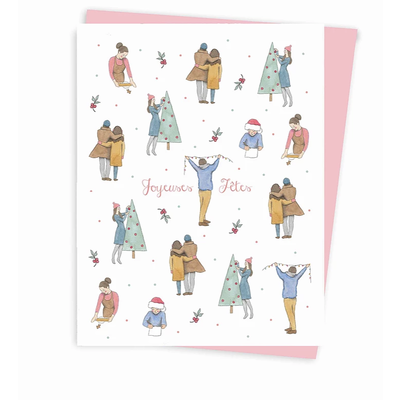 Hobeika Art Carte de Noël - Joyeuses fêtes