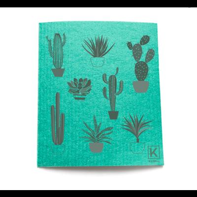KLIIN Essuie-tout réutilisable - Cactus vert