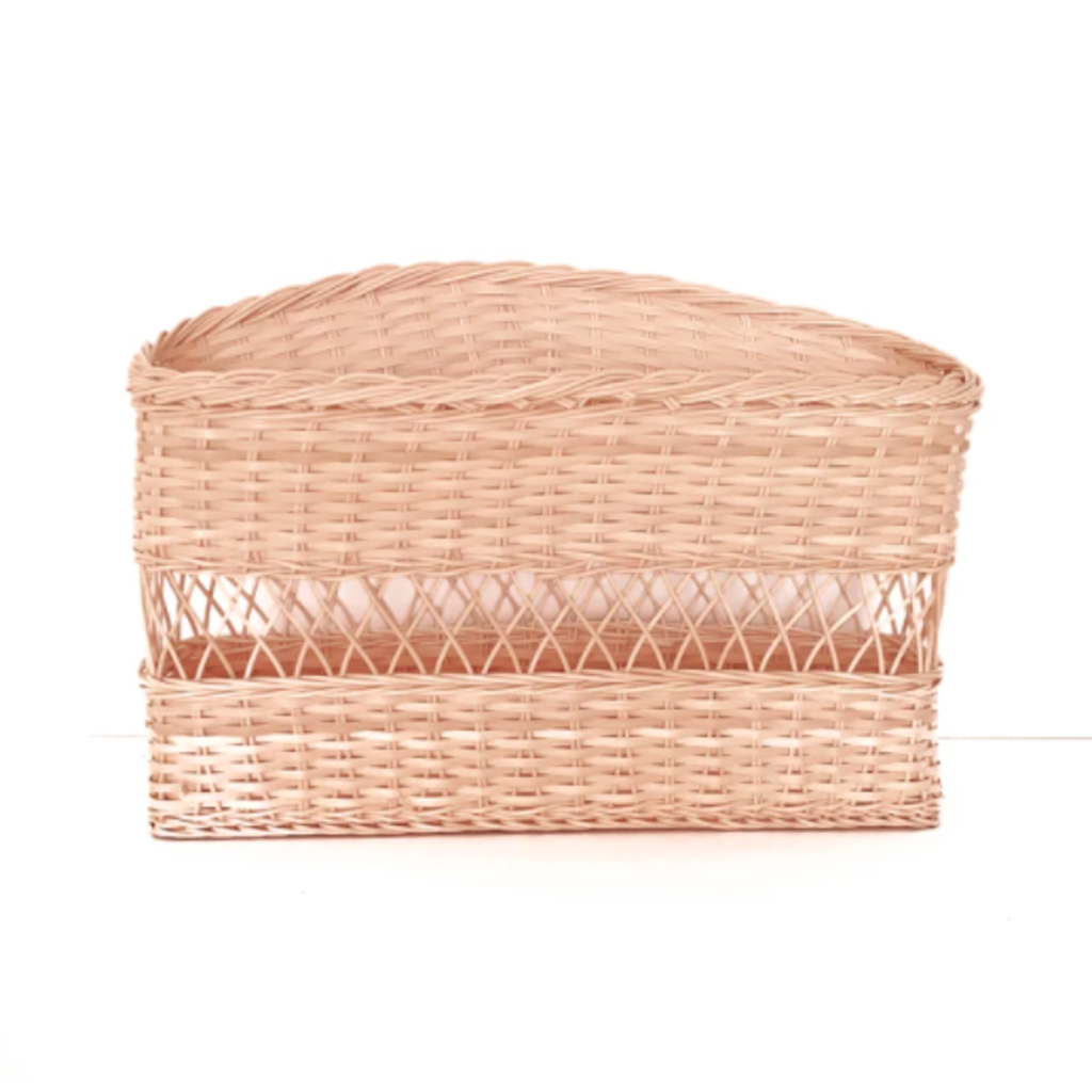 Coconeh Panier de livres en osier