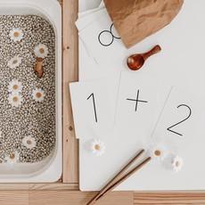 Pastel Cartes d'apprentissage résistantes - Chiffres