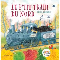 Grand Élan Le p'tit train du nord - Livre