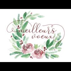 Stéphanie Renière Carte de Noël - Meilleurs Voeux