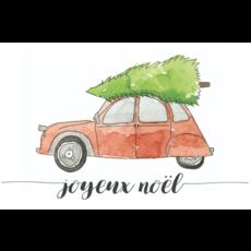 Stéphanie Renière Carte de Noël - Joyeux Noël auto