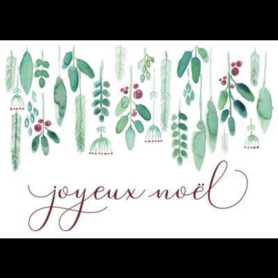 Stéphanie Renière Mini carte - Joyeux Noël