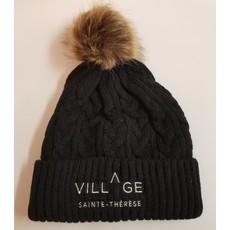 Village Sainte-Thérèse Tuque noire - Objets promotionnels du Village