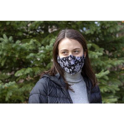 Maskalulu Masque anti-buée - Flocons de neige
