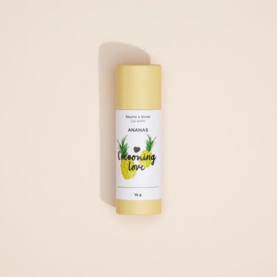 Cocooning Love Baume à lèvre végane - Ananas