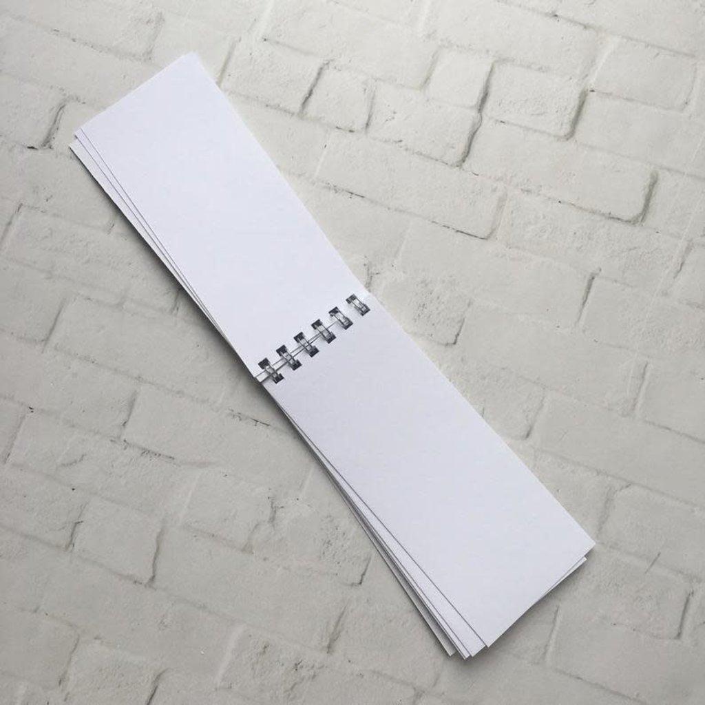 Kit de Survie Mini bloc de notes - Crème