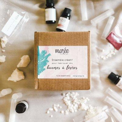Les produits Marée Ensemble créatif - Baumes à lèvres