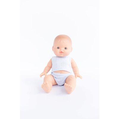 Paola Reina Poupée Bébé en pyjama - Albert