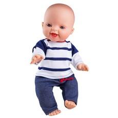 Paola Reina Vêtements pour poupée - Pantalon bleu et chandail rayé