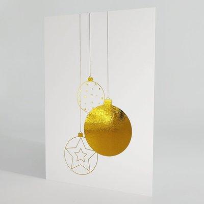 L'écrit reste... Carte - Boule d'or et d'amour